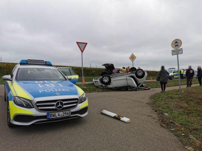H1 VU Unklare Lage - L1115 Mundelsheim >> Ottmarsheim