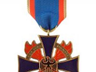 Ehrenkreuz des DFV in Bronze