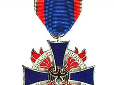 Ehrenkreuz des DFV in Silber