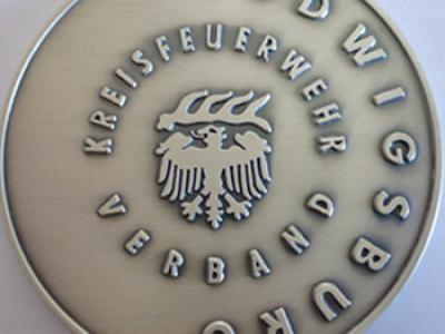 Ehrenmünze des KFV in Silber
