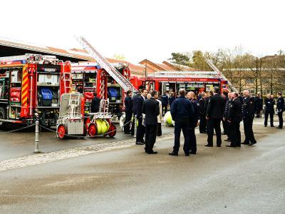 Präsentation der neuesten Feuerwehrfahrzeuge