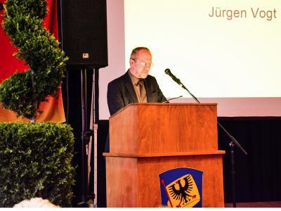 Grußworte des 1. Landesbeamten Jürgen Vogt