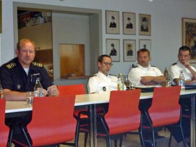 Ben Bockemühl von der Feuerwehr Ludwigsburg stellt sich vor.
