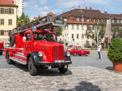 Drehleiter DL 25h (Baujahr 1959), Feuerwehr Ludwigsburg