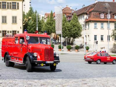 Schlauchwagen SW 2000 (Baujahr 1961), Feuerwehr Ludwigsburg
