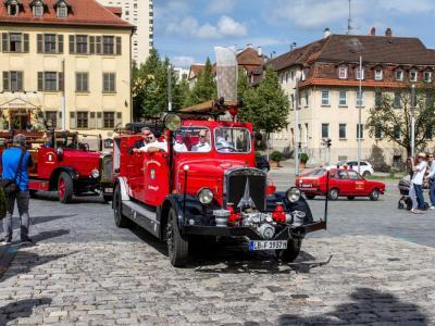Kraftfahrspritze 25 (Baujahr 1937), Feuerwehr Freiberg a. N.