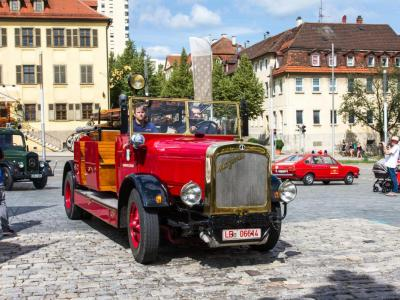 Kraftfahrspritze 25 (Baujahr 1929), Feuerwehr Kornwestheim